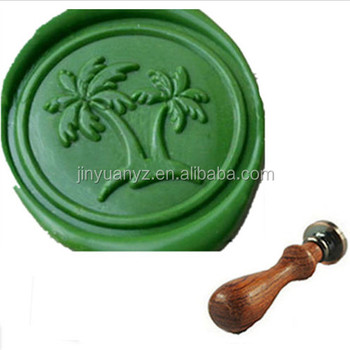 hot selling custom design tree sealing Wax Stamp set ( wood handle)
