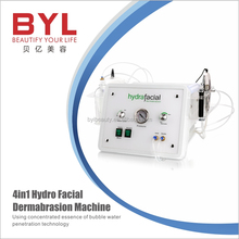 2017 new multifunction water peel hydra dermabrasion machine skin scrubber