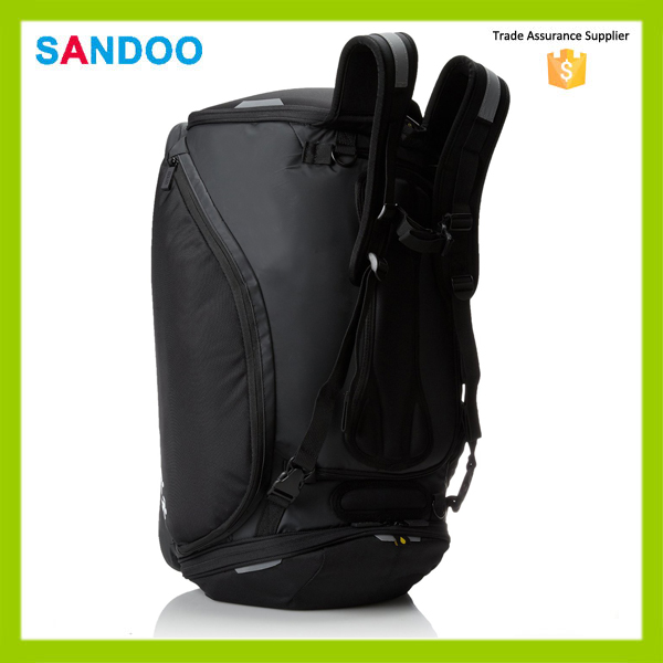 2016 China supplier triathlon backpack bag for sport, black transition triathlon bag