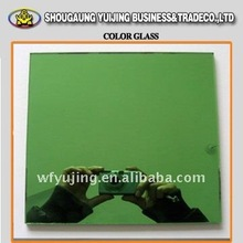 Green 5mm reflective glass for windows