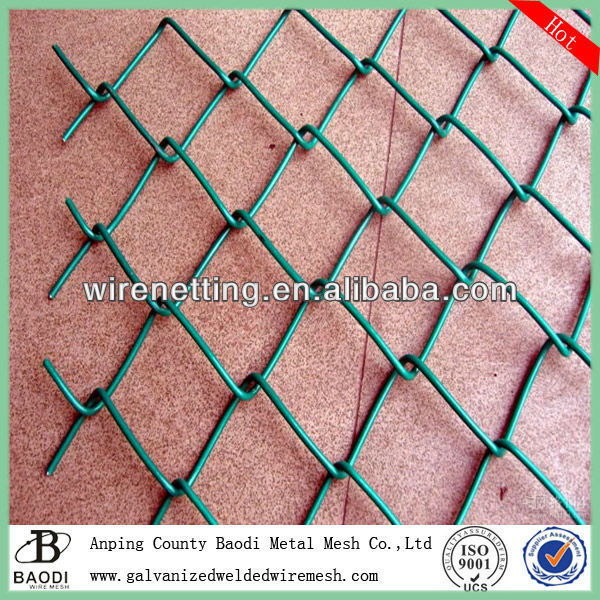 good powder coated chain link fence poles