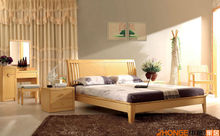 Natural style minimalist bedroom set W5309#