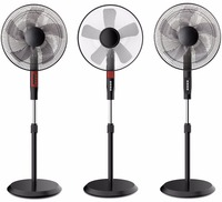 Hot selling air cooling stand fan with full copper motor and LED display