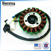 GN125-18 CLASS motorbike magnetor coil generator rotor and stator assy