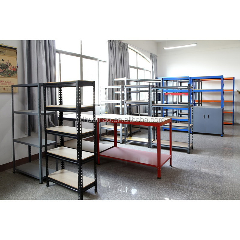 factory wholesale storage steel metal warehouse shelves home shelf