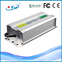 Constant Voltage 12V waterproof ip67 120w constant current led driver With CE RoHS FCC