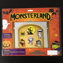 Monsterland paper cutouts for halloween party decoration