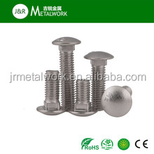 M8 M10 DIN603 stainless steel truss head square neck bolt