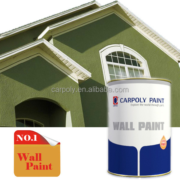 Hot Selling!!! CARPOLY High Performance Exterior Wall Stucco Paint