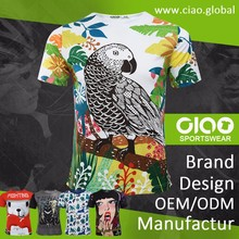Ciao sportswear free sample heat transfer printing t shirt manufacturers bangalore for adult