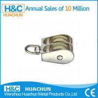 2014 Double Wheel Pulley Small Metal Swivel Pulley HC-P009