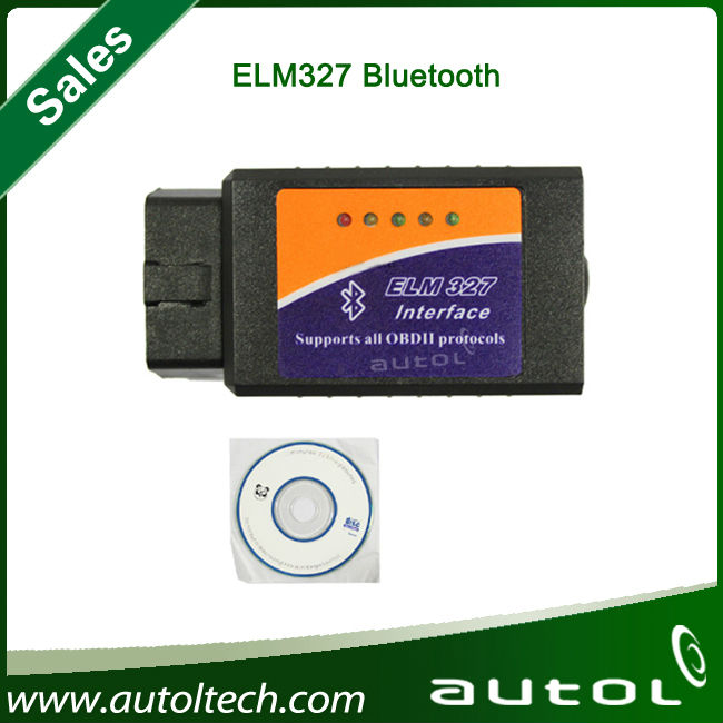 Elm327 Bluetooth OBDII Professional Diagnostic Tool OBD2 ELM327 Bluetooth Car Diagnostic Scanner with DHL fast shipping