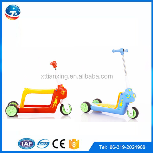 2016 New three Wheel Kick pedal foot Scooter with Adjustable Handlebars for kids/child scooter toy for european