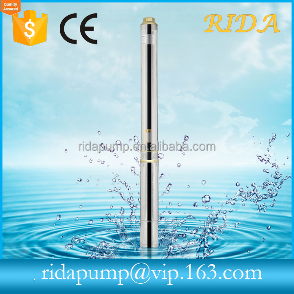 2017 RIDA price water cooler submersible pump with solar panels for agriculture irrigaton usage made in china