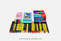 Colorful 8 Color Crayons Wax Pencil Wax Crayon