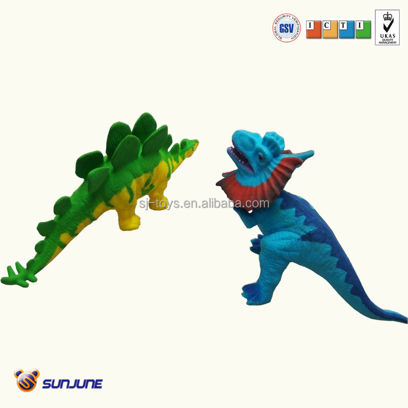 non-filler plastic dinasour toy for kids from chinese factory