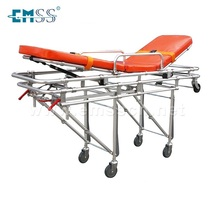 EDJ-011C Foldable automatic loading ambulance stretcher