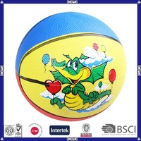 best price high quality funny rubber basketball