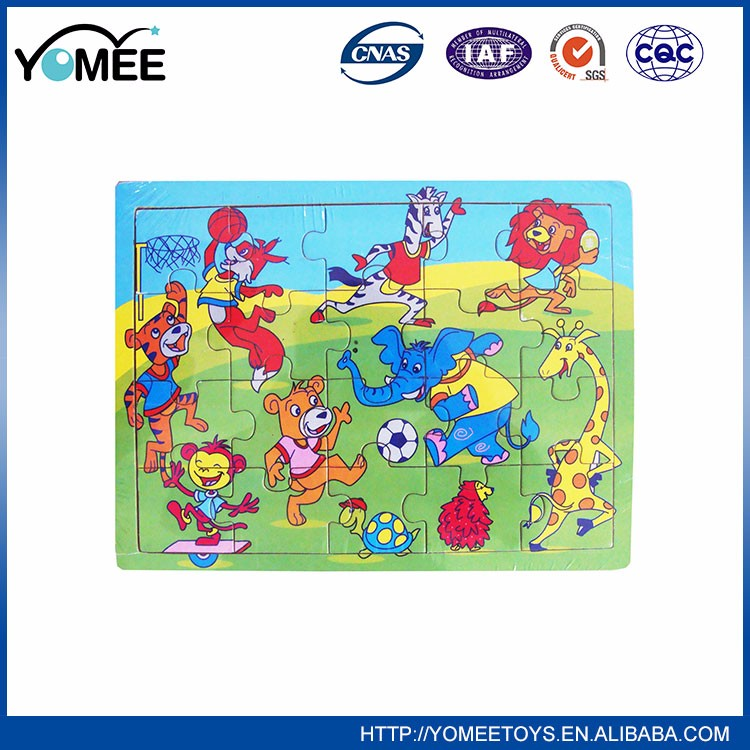 Hot Sale Educational Games Toy 3d puzzle diy toy