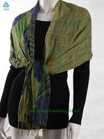 fashion 2012 100% linen scarf necklaces wholesale poncho XG-37