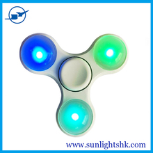 New Style Toys for kids Fidget Hand Spinner LED Light Up Switch Control Ultra High Speed Long Spin Time Glow in the Dark