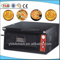 Stainless Steel Single Layer Electric Pizza Oven Price / Wood Fired Pizza Oven