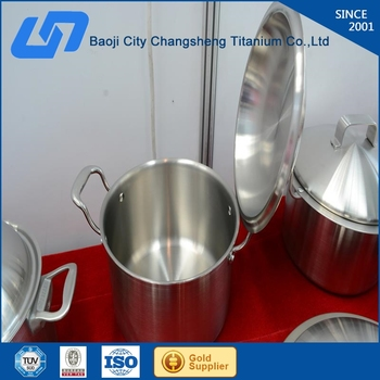 Titanium Cooking Pot Set German Cookware Style