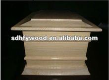 graceful wooden urns for sale from china manufacturer
