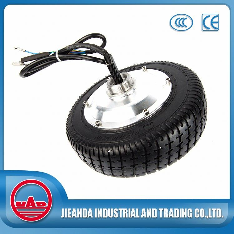 24v 180w electric wheelbarrow hub motor with tyre