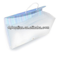 New design expanding office supplies a4 a5 FC clear pp file folder PP material