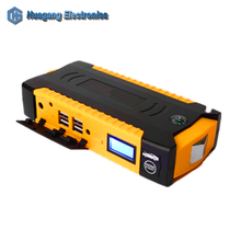 High capacity 12V automotive battery power bank multi function snap on car jump starter