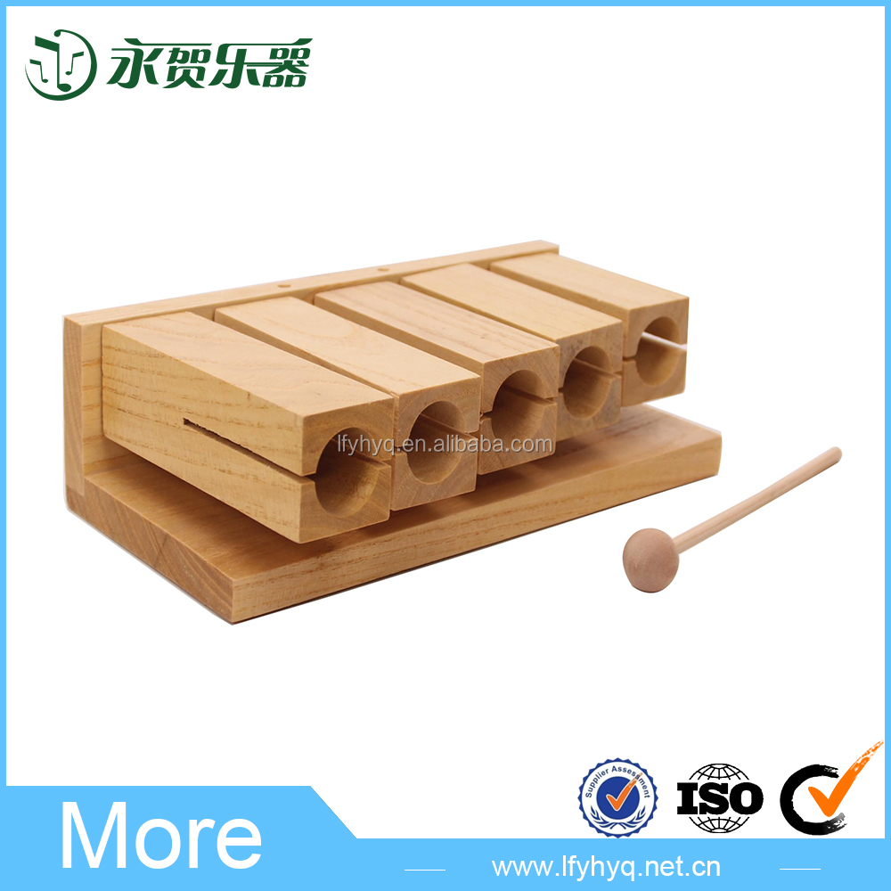 Chinese products wholesale music toy wood tone block
