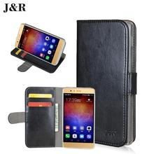 Original J&R Brand Wallet PU Leather Stand Flip Case For Sony Xperia SP M35h Cover,Book style Phone Bag Cases 9 colors