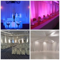 WHOLESALE wedding pipe and drape LOWEST PRICE photo booth package/ wedding tent