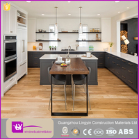 MDF Lacquer Kitchen Cabinet Modular Latest Wooden Kitchen Furniture Designs Base Cabinets