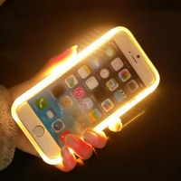2016 Top Selling Illuminated Selfie Led Light Up Phone Case For Iphone6