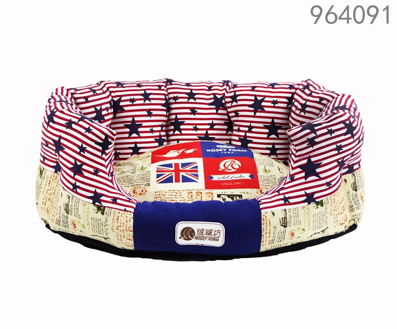 ODM LOW MOQ free sample small medium large pets dogs cats bed supplier