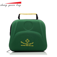 Wholesale green and red empty plastic first aid bag