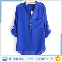 Latest Design manufacturer china blouses for church