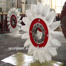 Hot sale pelton hydro turbine/power plant/generator 2500kw
