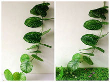 outdoor and indoor decorative artificial leaf stem