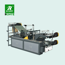 HDPE LDPE PE Biodegradable Cloth Patch Carry Poly Nylon Polythene Garbage T-Shirt Shopping Plastic Bag Making Machine Price