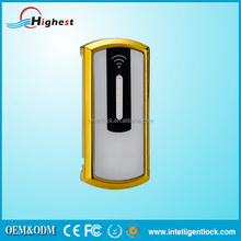 inductive door access control system for door locks and handles