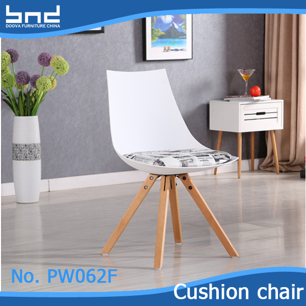 Hot sale durabel wooden dowel cross leg dining chair PW062F