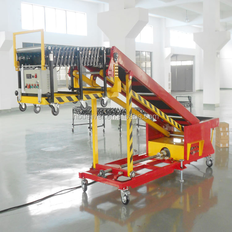 Machine Manufacturer of Infeed and Outfeed Belt Conveyor for Truck Loading Unloading from china online shopping