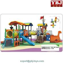 China kids playing outdoor playground playsets