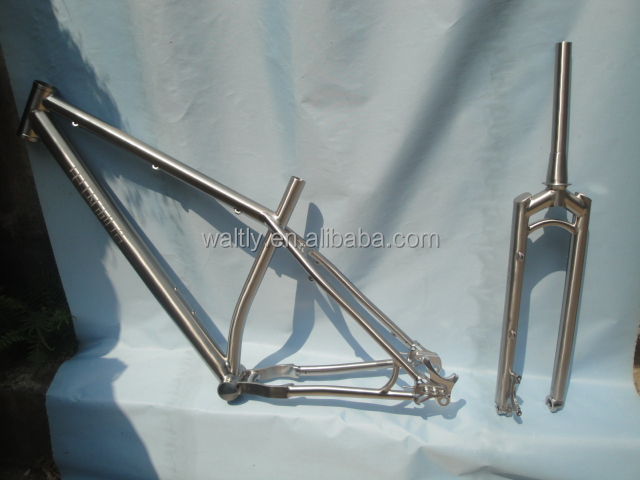 Hottest style mountain bike titanium frame on sale