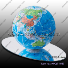 14cm/6 inches automatic rotating globe/Creative gift/Magnetic levitation globe
