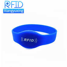 Waterproof RFID silicone wristband for swimming pool with premium quality and competitive price