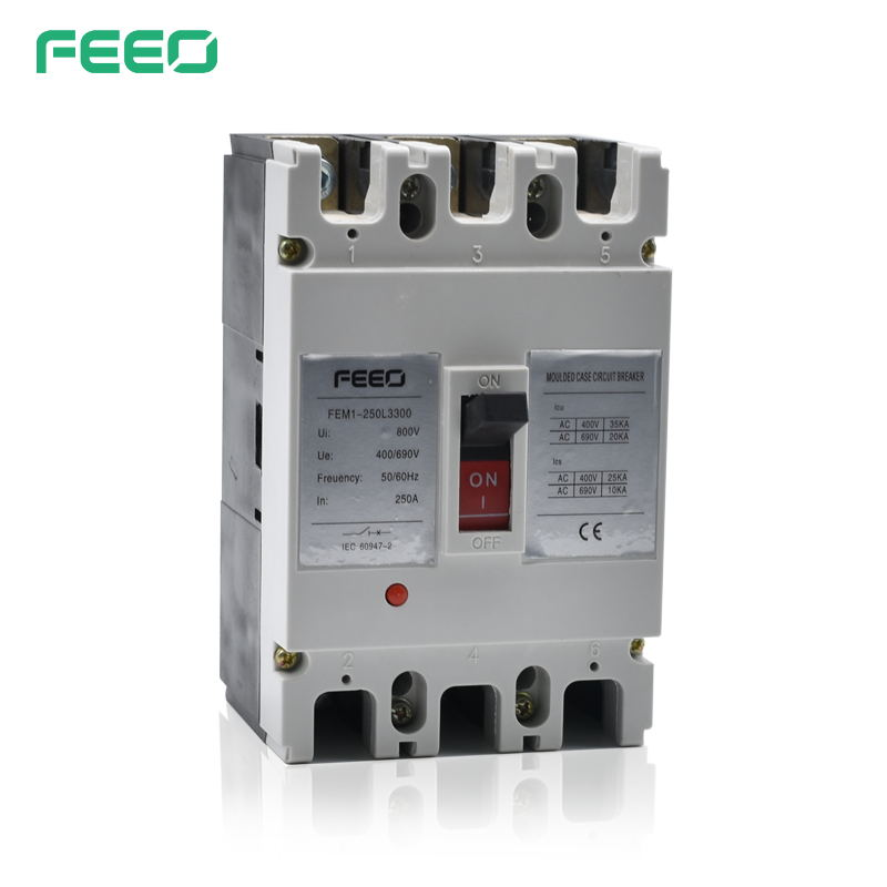2015 most professional MCCB 100a 200a 250a 400a 630a 800a 3 pole moulded case circuit breaker